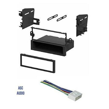 ASC Single Din Car Stereo Install Dash Kit and Wire Harness for 04-06 Chevrolet Aveo; Daewoo: 99-02 Lanos, 99-02 Leganza, 99-02 Nubira; Suzuki: 04-08 Forenza, 05-08 Reno, 04-07 Verona