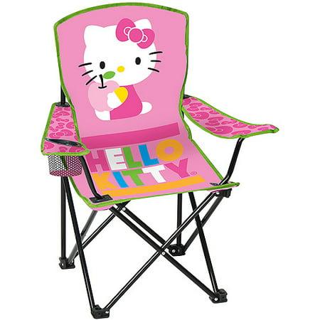 Sanrio Hello Kitty Kid S Folding Armchair Pink Walmart Com