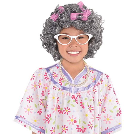 Kids Grandma Old Lady Costume Accessory Kit ()