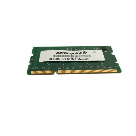 CE483A 512 MB DDR2 144-pin DIMM HP LaserJet P3015 P4014 P4015 P4515 Printer Memory RAM (PARTS-QUICK ® BRAND) (512 Mb Ddr266 Sodimm)