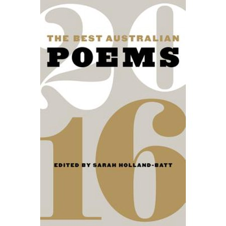 The Best Australian Poems 2016 - eBook (Sarah Kay Best Poems)