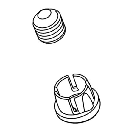 Delta RP91906SS Pivotal Set Screw and Button In Stainless Steel