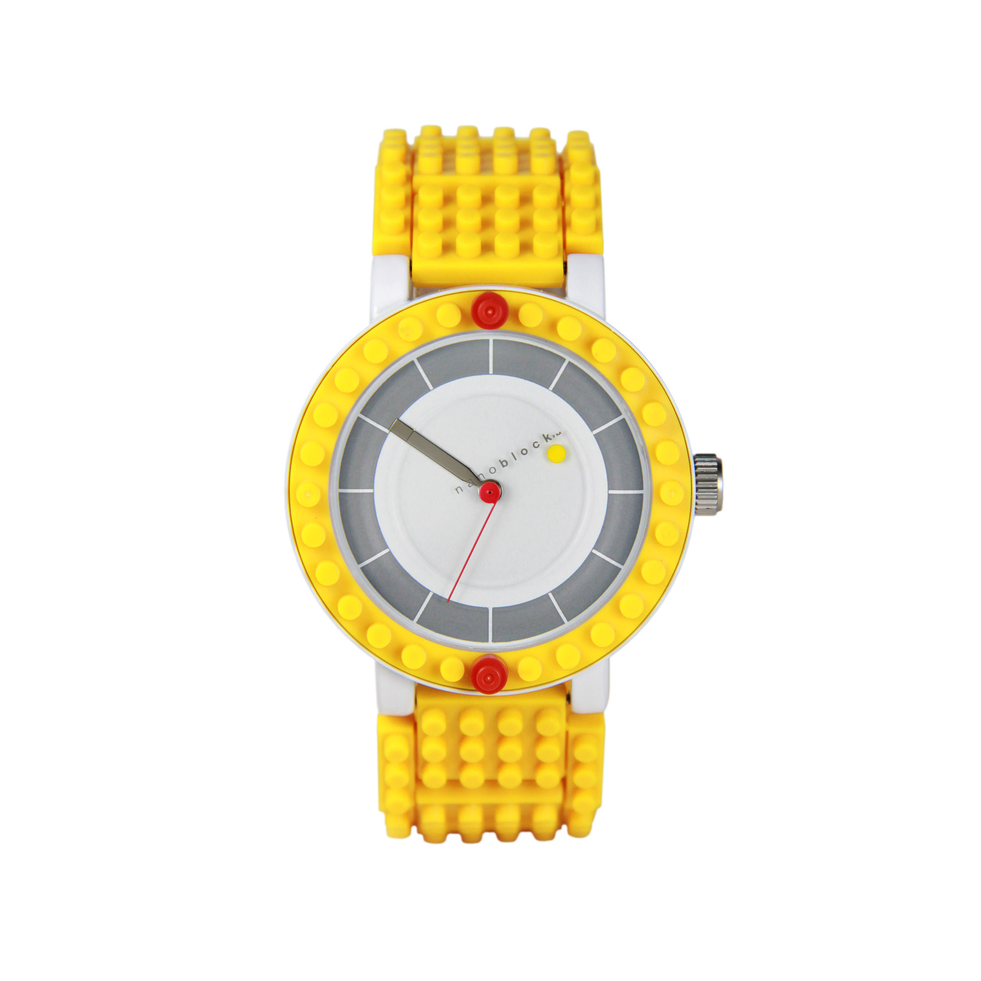 Nanoblocktime All Rounder Watch, Yellow by Beta Enteprises Inc.