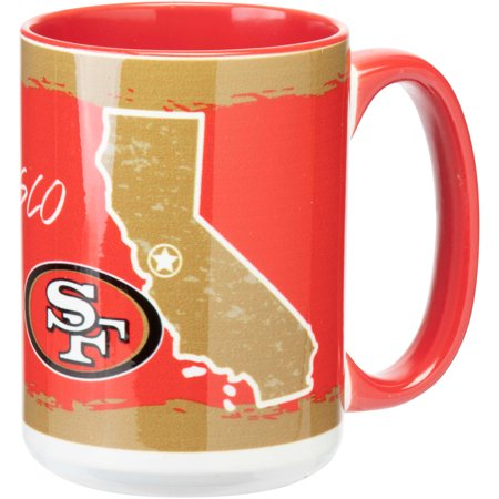 San Francisco 49ers 15oz. It's Your State Of Mind Mug - No