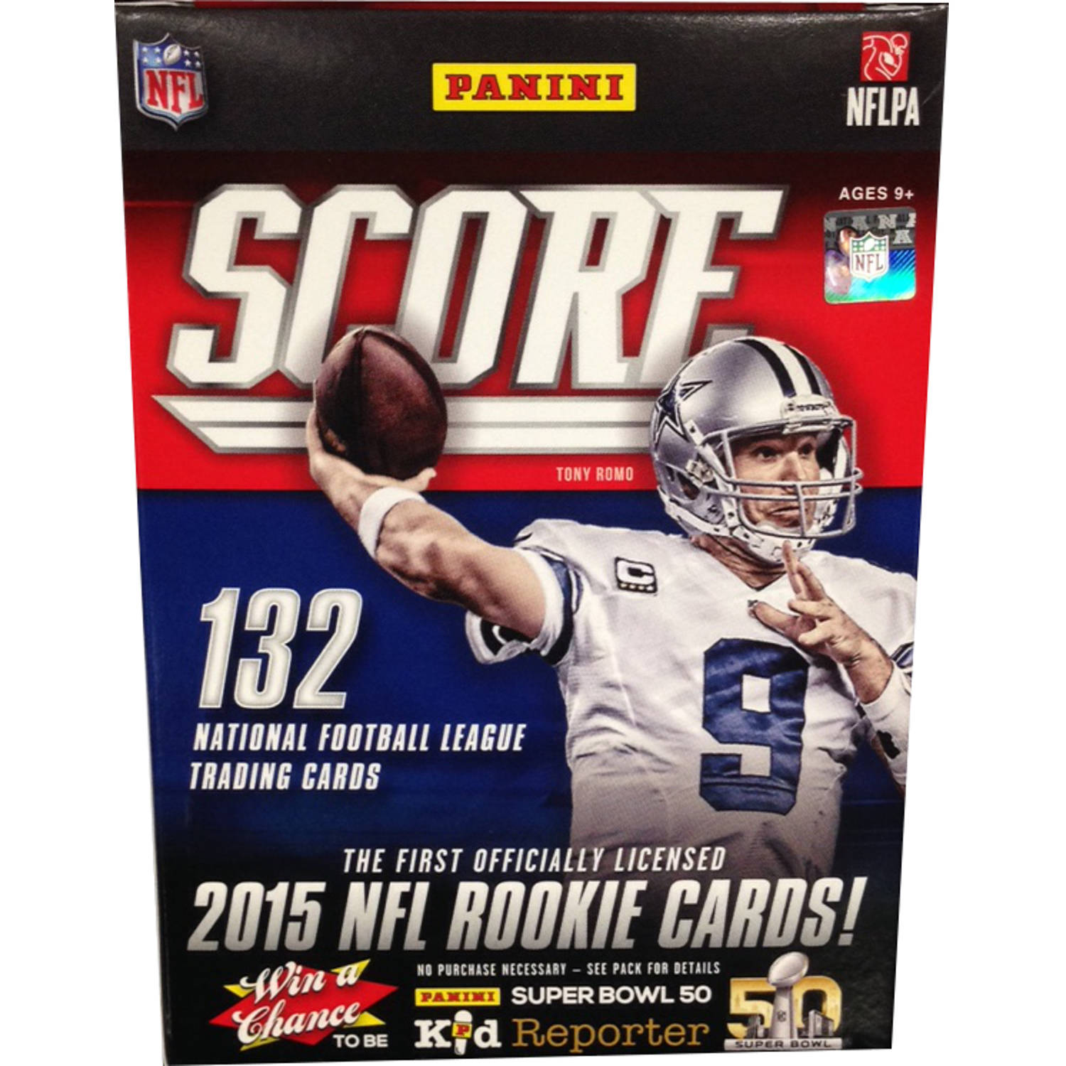 2015 Panini NFL Score Value Box