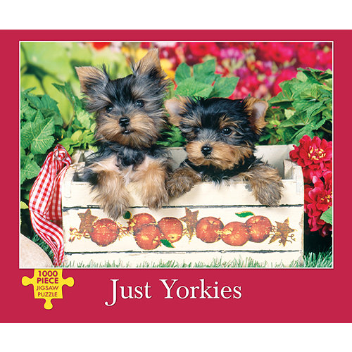 Just Yorkies 1000 Piece Puzzle,  Yorkshire Terriers by Willow Creek Press