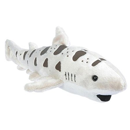 "12"" Leopard Shark Pounce Pal Plush Stuffed Animal"