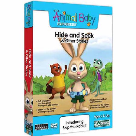 Wild Animal Baby Explorers: Hide & Seek And Other Stories