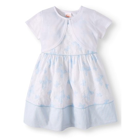 - Special Occasion Dress with Shrug (Toddler Girls)