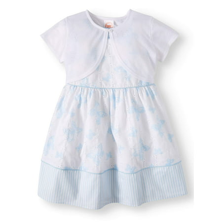 Special Occasion Dress with Shrug (Toddler Girls)](Cute Dresses For Girls Cheap)