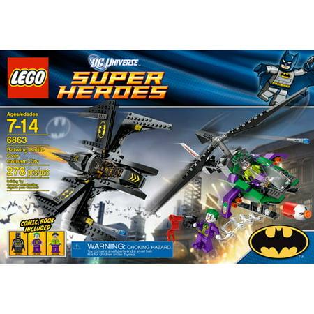 LEGO Super Heroes Batwing Battle Over Gotham City (Party City Joe Battle)