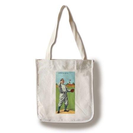 St  Louis Browns   Frank B  Laporte   Baseball Card  100  Cotton Tote Bag   Reusable