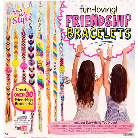 Friendship Bracelets Patterns With Instructions (Just My Style Fun-Loving Friendship Bracelets by Horizon Group)