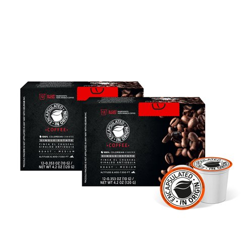 Encapsulated in Origin Single State El Chuscal Coffee K-Cup Variety Bundle (Pack of 24) (Set of 24)