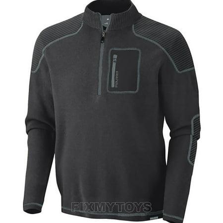 Polaris Youth Boys Grey Blackcomb 1/4 Zip up Long Sleeve Sweater