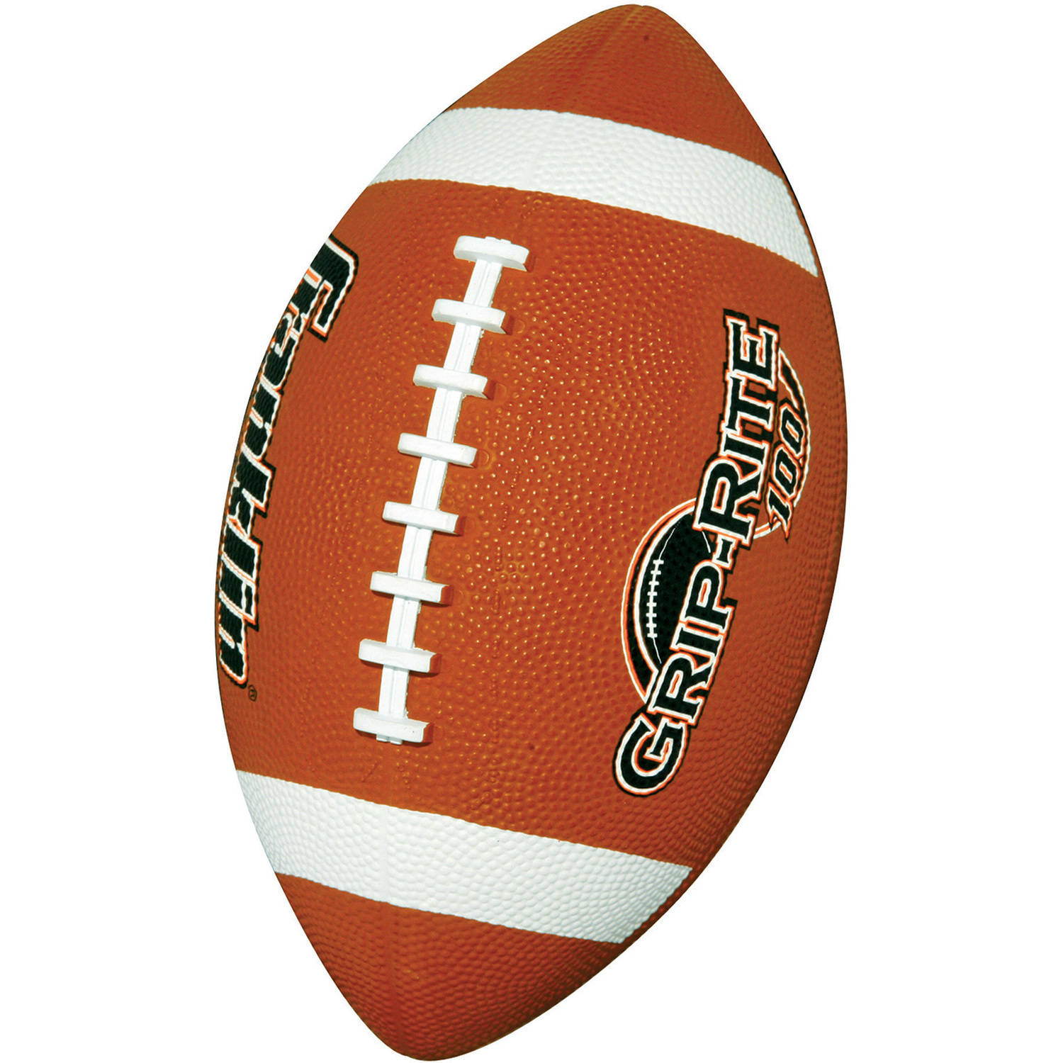 Franklin Sports Grip-Rite 100 Rubber Football, Junior
