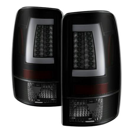 Alt Yd N350z02 Led (Spyder 00-06 GMC Yukon/Yukon XL V2 Light Bar LED Tail Lights - Blk Smoke)