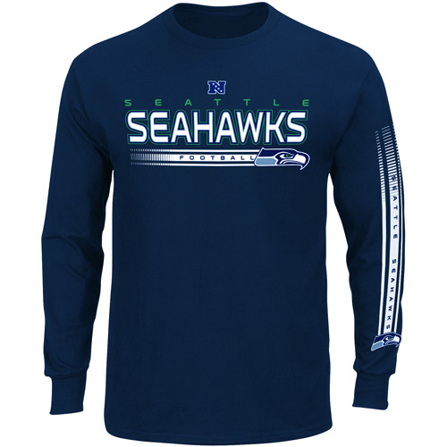 NFL - Men's Seattle  Seahawks Long Sleeve Team Tee