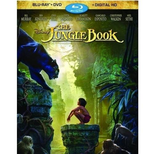 The Jungle Book (Live Action Movie) (Blu-ray + DVD + Digital HD)
