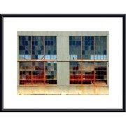 Printfinders Window Panes by John K. Nakata Framed Photographic Print