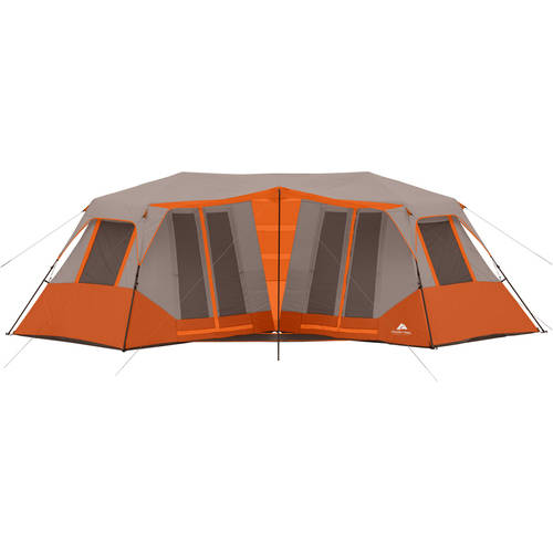 "Ozark Trail 23' x 11'6"" Instant Double Villa Cabin Tent, Sleeps 8, Green by"