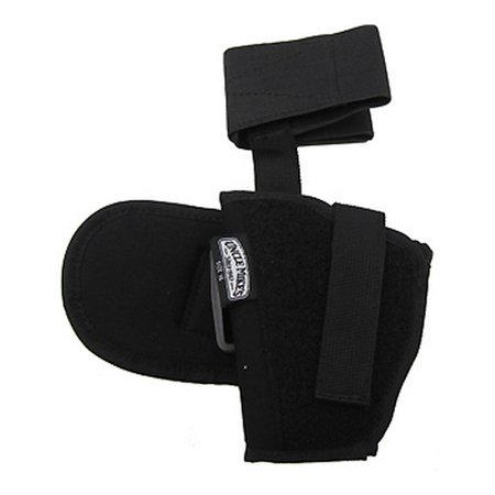 Uncle Mikes Kodra Ankle Holster, Black Size 16, Left Hand