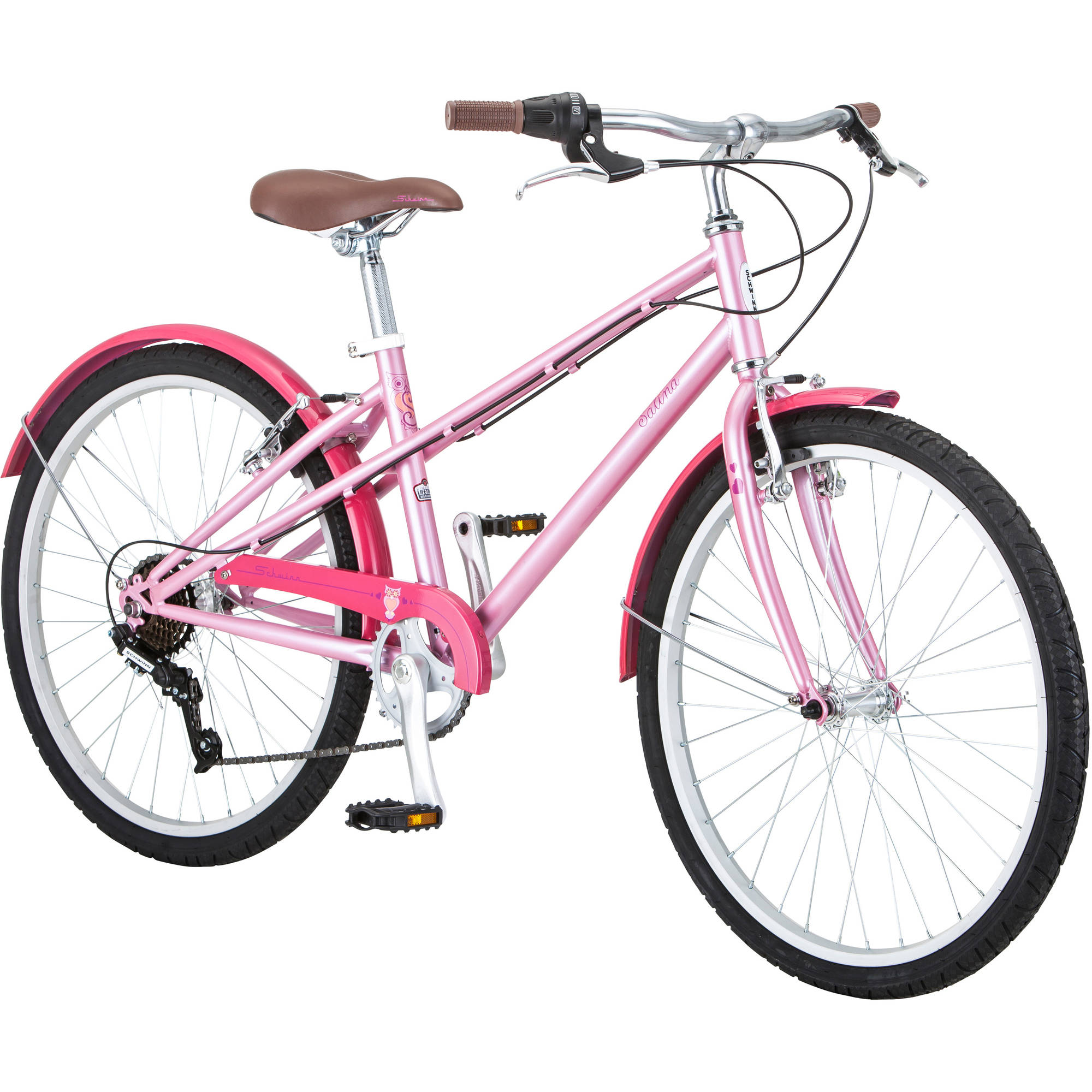 "24"" Schwinn Salina Girls' Bike, Pink"