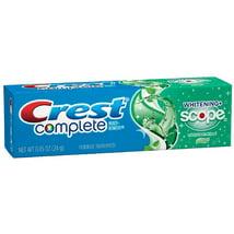 Toothpaste: Crest Complete