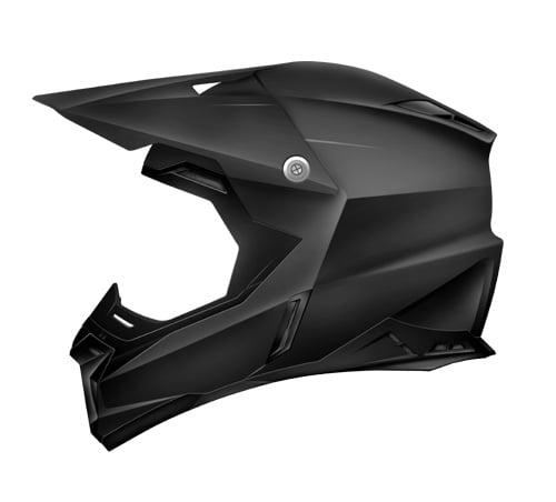 ZOAN 521-007 Synchrony Mx Helmet, Matte Black - L