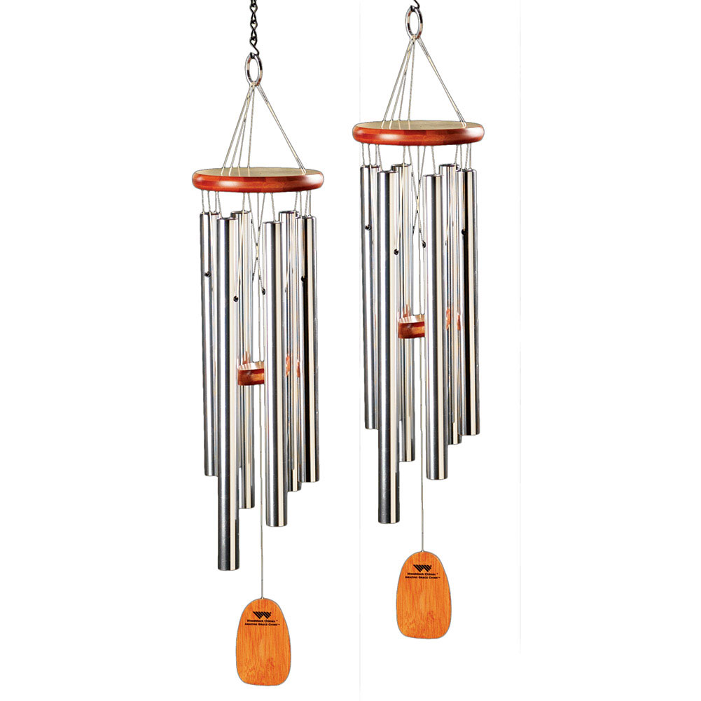Amazing Grace Metal Wind Chime Set of 2 by WOODSTOCK PERCUSSION