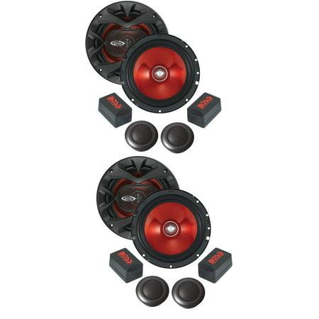 Car Audio Component Speaker System - 2) BOSS CH6CK 6.5