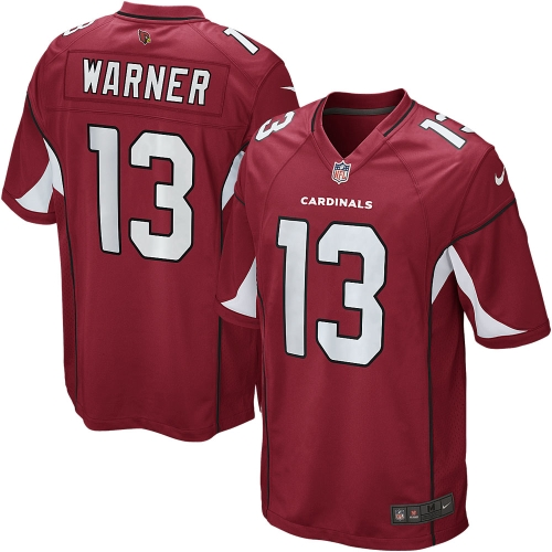 Kurt Warner Arizona Cardinals Youth Nike Retired Game Jersey - Cardinal