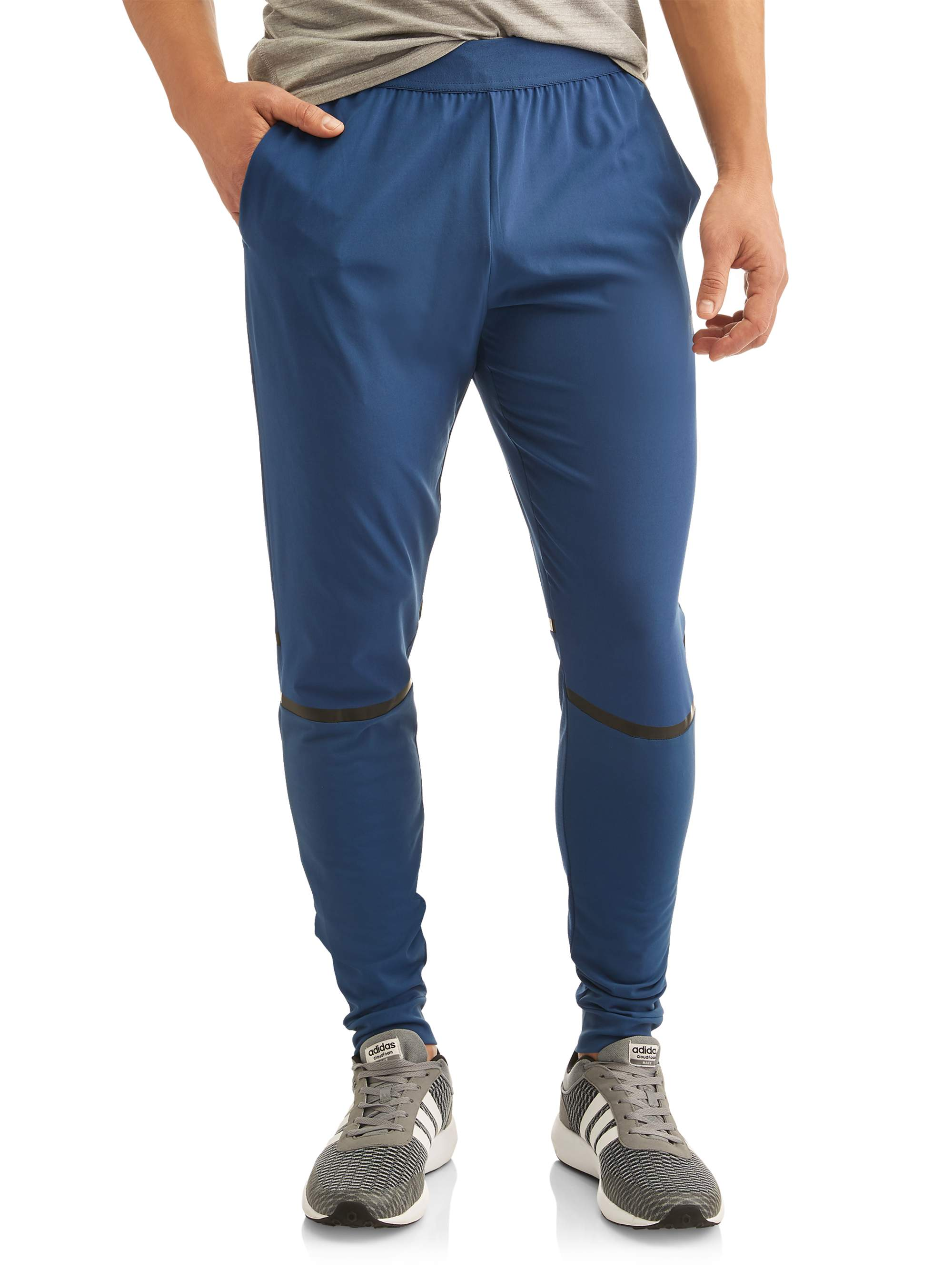 Russell Exclusive Big Mens Mix Media Performance Running Pant