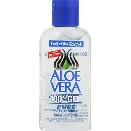 Fruit of the Earth Aloe Vera 100% Gel 2 oz (Pack of