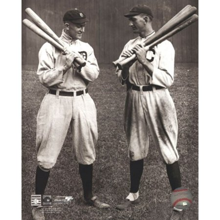 Ty Cobb and Shoeless Joe Jackson Sports Photo (Shoeless Joe Jackson Framed Photo)