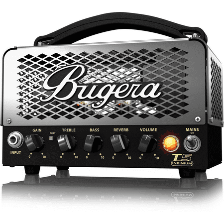 Bugera T5 Infinium 5-Watt Cage-Style Tube Amplifier Head with INFINIUM Tube Life Multiplier and Reverb