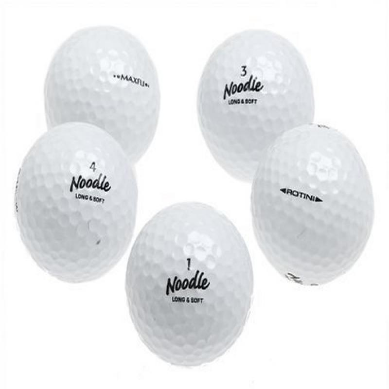 Maxfli Noodle Recycled Golf Balls, 36 pack