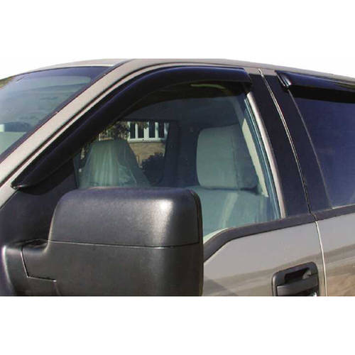 Stampede Sta6123-2 99-C Ford Hd Cc Smoke 4-Piece Window Visors
