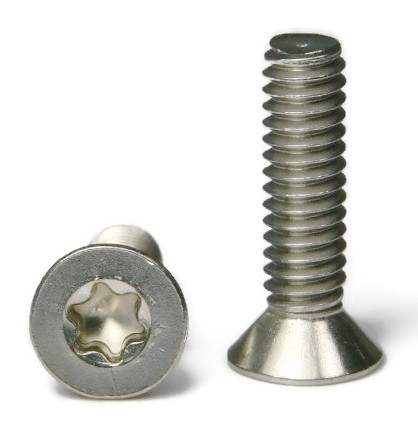 "#6-32 x 1/4"" Torx 6 Lobe Flat Head Machine Screw - QTY 250"