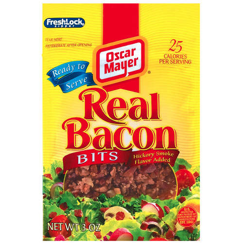 Oscar Mayer Bacon / Breakfast Sausage Real Bacon Bits Ready To Serve, 3oz