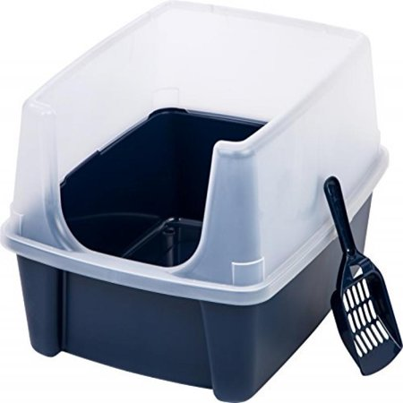 Iris Open Top Cat Litter Box Kit