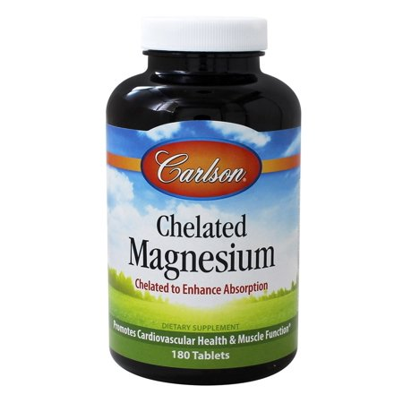 Carlson Labs - Chelated Magnesium 200 mg. - 180 Tablets ()
