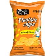 Samai Naturally Sweet Plantain Chips, 15 Oz.
