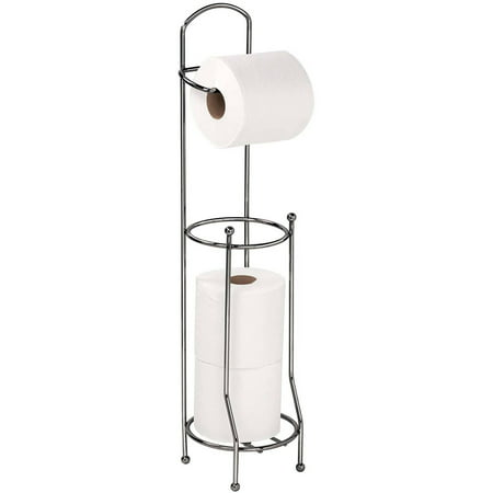 Bath Bliss Toilet-Tissue Holder/Dispenser, Onyx (Loft Bath Line Toilet Roll)
