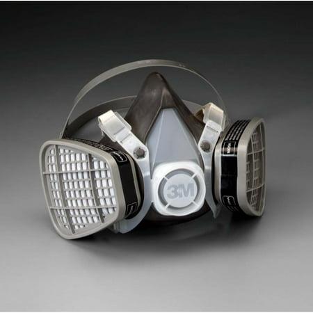 Facepiece Assembly (3M Half Facepiece Disposable Respirator Assembly 5301, Organic Vapor, Large )