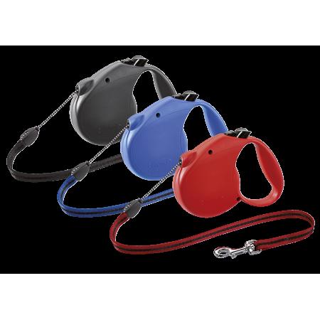 flexi Retractable Dog Leash (Cord), 16ft, Medium, No Color Choice