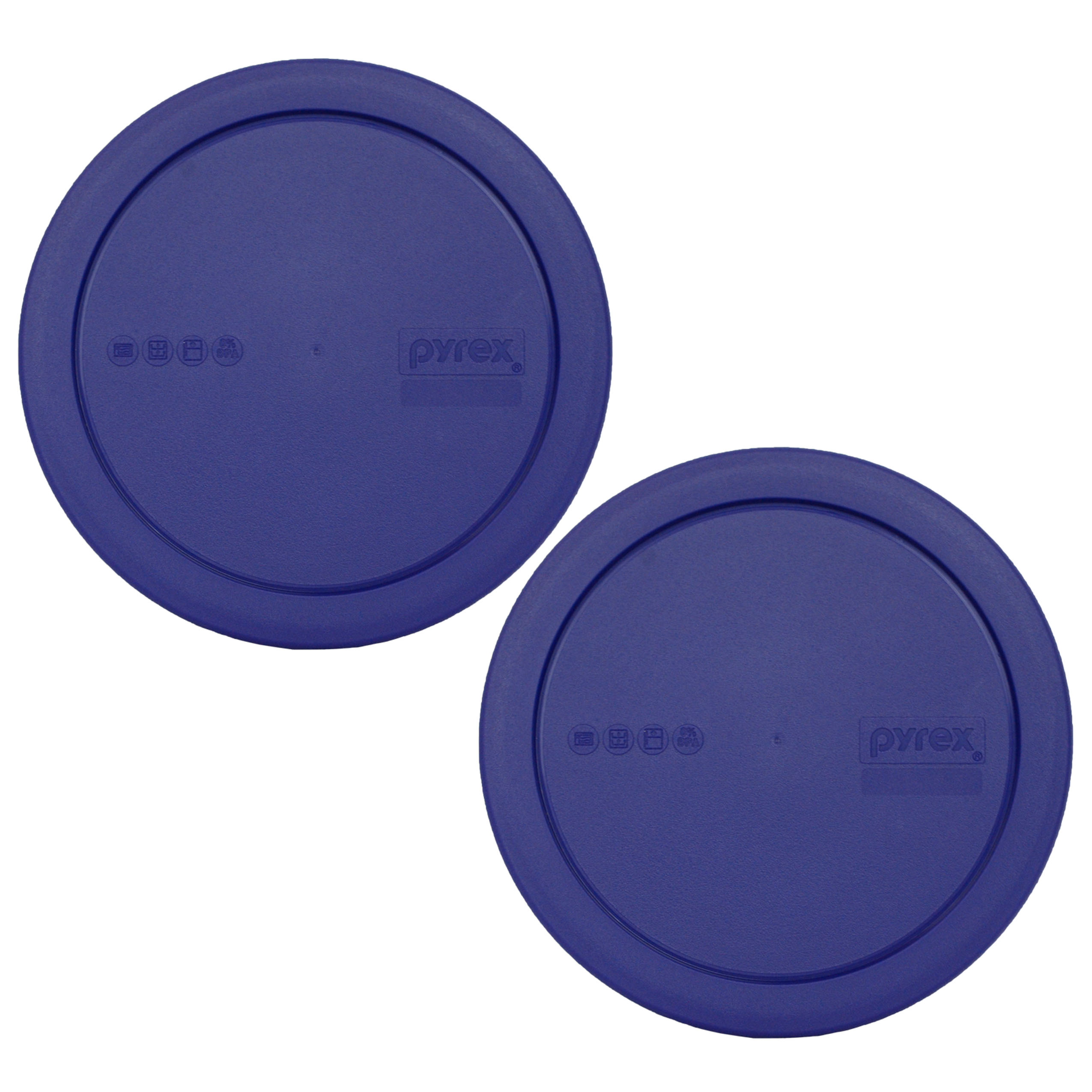 Pyrex Replacement Lid 322-PC Green Plastic Round Cover (2-pack) for Pyrex 322 1-Qt Mixing Bowl (Sold Separately)