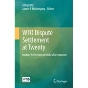 WTO Dispute Settlement at Twenty - eBook