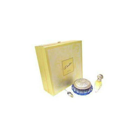 Doulton by Royal Doulton for Women 2 Piece Set Includes: 0.3 oz Parfum Classic Spray Rechargeable + 9.2 oz Scented Bath Crystals