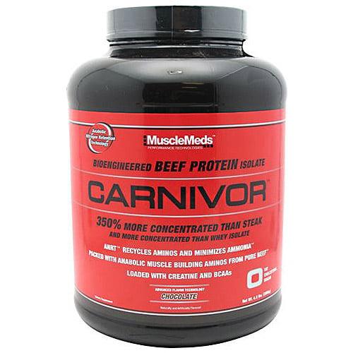 Carnivor Bioengineered Beef Protein Isolate Chocolate Dietary Supplement Powder, 4.1 lbs